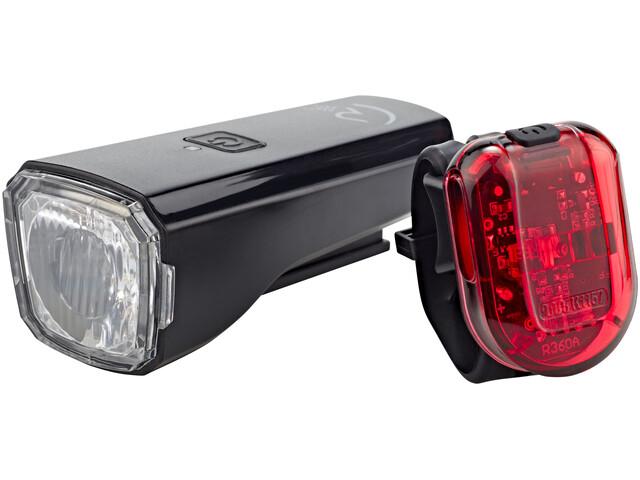 Cube RFR Tour 25 USB Beleuchtungsset schwarz